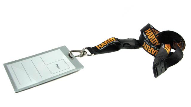 ленты для бейджей с логотипом: